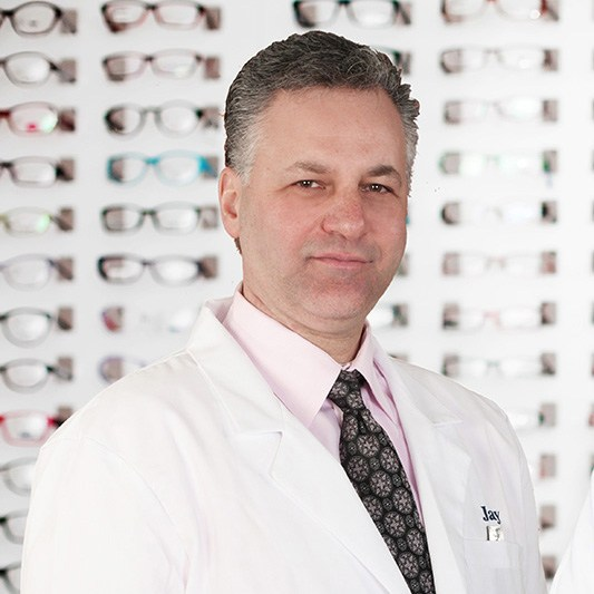 Jay Brandstein in Central Nassau Optical