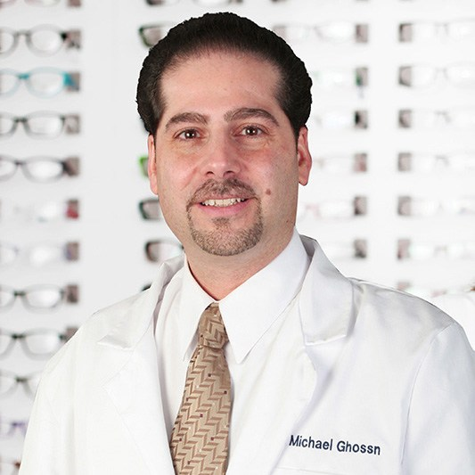 Dr. Michael Ghossn in Central Nassau Optical