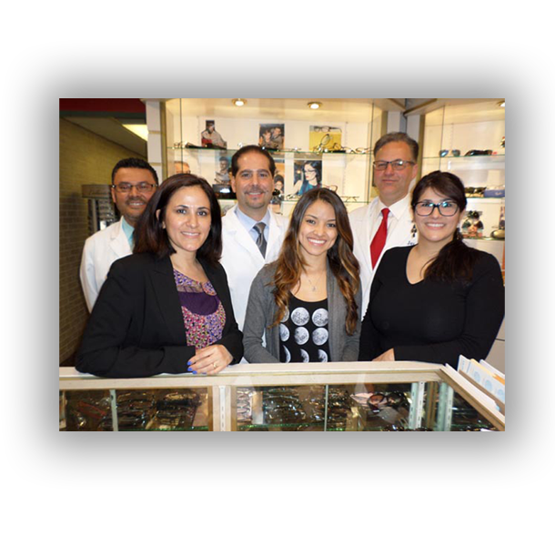 Central Nassau Optical staff