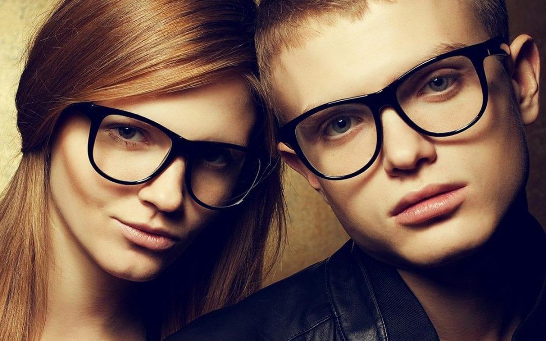 Fashionable Eyeglass Frames